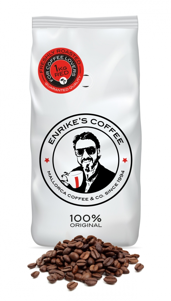100% Pure Arabica. RED Coffee Pods - Enrike's Coffee