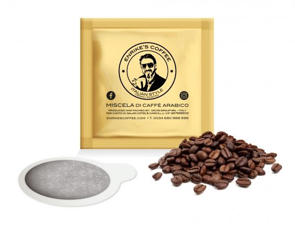 150 unidades de los mejores granos de café disponibles.