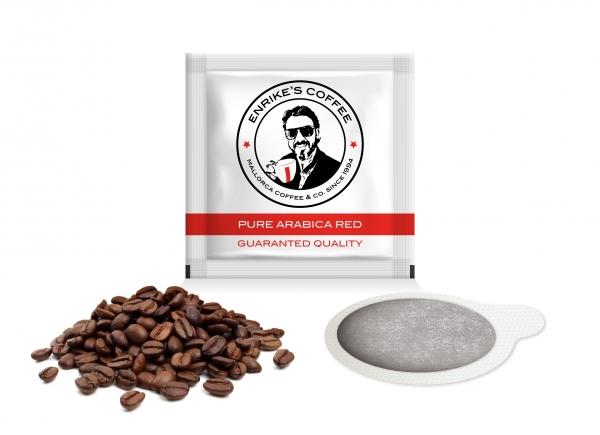 100% Pure Arabica. RED Coffee Pods - Enrike's Coffee