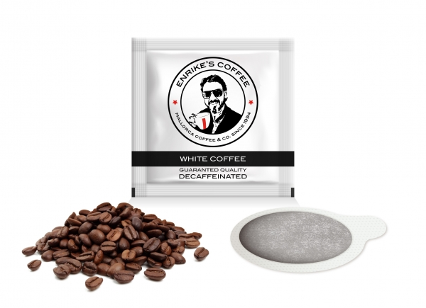 150 units of decaffeinated coffee. Naturally decaffeinated coffee.